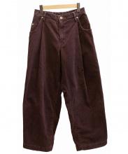 neon sign(ネオンサイン)の古着「Wide Corduroy Pants パンツ」