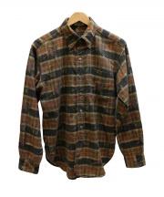 Engineered Garments(エンジニアドガーメンツ)の古着「19th BD Shirt  シャツ」 ブラウン