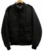 Barbour(バブアー)の古着「WAX FLYER JACKET ジャケット」 ブラック
