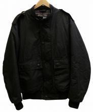 Barbour(バブアー)の古着「WAX FLYER JACKET ジャケット」|ブラック