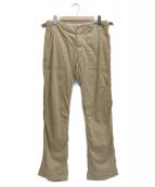 Engineered Garments(エンジニアードガーメン)の古着「ベイカーパンツ」|ベージュ