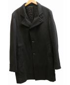 TAGLIATORE(タリアトーレ)の古着「GORDONチェスターコート」|チャコールグレー