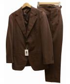 五大陸(ゴタイリク)の古着「セットアップ3Bスーツ」 ブラウン