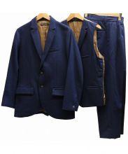 EEL(イール)の古着「3ピースセットアップスーツ」|ネイビー