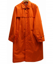 AURALEE(オーラリー)の古着「ロングコート」|オレンジ