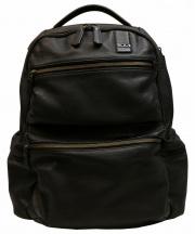TUMI(トゥミ)の古着「Revere Leather Brief Pack リュック」|ブラック