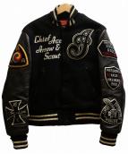 INDIAN MOTORCYCLE(インディアンモーターサイクル)の古着「スタジャン」|ブラック