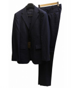 COMME CA MEN(コムサメン)の古着「シャドーストライプ2Bスーツ」