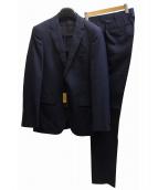 COMME CA MEN(コムサメン)の古着「ピンストライプ2Bスーツ」