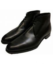 Crockett & Jones(クロケット&ジョーンズ)の古着「Millbank Black Calfチャッカブーツ」