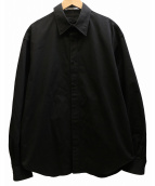 JOHN LAWRENCE SULLIVAN(ジョンローレンスサリバン)の古着「パッカリングBIG BOMBER SHIRT シャツ」
