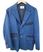 soe(ソーイ)の古着「テーラードジャケット」|ブルー