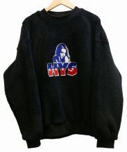 Hysteric Glamour(ヒステリックグラマー)の古着「HYS刺繍ボアスウェット」