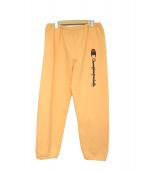 Supreme × Champion(シュプリーム×チャンピオン)の古着「SWEAT PANTS」 オレンジ