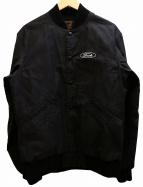 Hysteric Glamour(ヒステリックグラマー)の古着「ワッペンスタジャン ジャケット」 ブラック