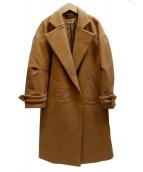 SCAPA(スキャパ)の古着「メルトンコート」 キャメル