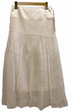 nesessaire(ネセセア)の古着「レーススカート」|ホワイト