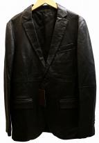 COMME CA MEN(コムサメン)の古着「レザー2Bジャケット」