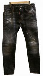 DSQUARED2(ディースクエアード)の古着「SEATTLE WASH SKATER JEANデニムパンツ」