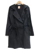 BACCA(バッカ)の古着「トレンチコート」|ブラック