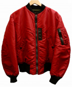 Buzz Ricksons(バズリクソンズ)の古着「RED MA-1ジャケット」 レッド