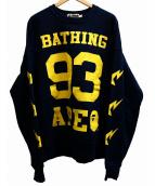 A BATHING APE(アベイシングエイプ)の古着「93プリントクルーネックスウェット」