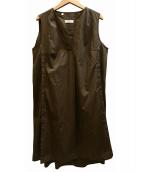 BARBA(バルバ)の古着「ワンピース」|オリーブ