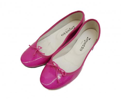 repetto(レペット)Repetto (レペット) フラットシューズ ピンク サイズ:表記サイズ:36の古着・服飾アイテム
