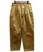 Phlannel(フランネル)の古着「2タックチノ パンツ」