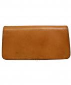 革蛸謹製(カワタコキンセイ)の古着「長財布」|ベージュ