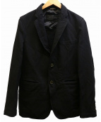COMME des GARCONS HOMME DEUX(コムデギャルソンオムドゥ)の古着「縮絨2Bジャケット」