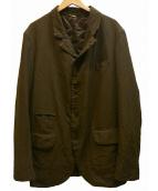 COMME des GARCONS HOMME DEUX(コムデギャルソン オム ドゥ)の古着「3Bジャケット」|オリーブ