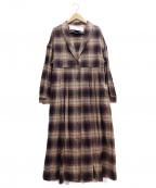 latelier du savon(アトリエドゥサボン)の古着「コート」|パープル