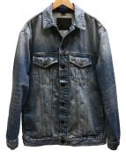 ALEXANDER WANG(アレキサンダーワン)の古着「DAZE OVERSIZED JACKET デニムジャケット」 スカイブルー