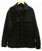 ALEXANDER WANG(アレキサンダーワン)の古着「DAZE OVERSIZED JACKET デニムジャケット」 ブラック