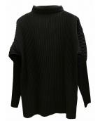 HOMME PLISSE ISSEY MIYAKE(オムプリッセイッセイミヤケ)の古着「プリーツプルオーバーシャツ」