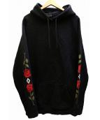 MARCELO BURLON(マルセロブロン)の古着「パーカー」|ブラック