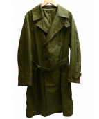 A vontade(アボンタージ)の古着「Field Trench Coat コート」|オリーブ