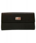 BVLGARI(ブルガリ)の古着「財布」|ブラック