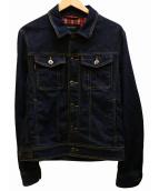 BURBERRY BLACK LABEL(バーバリーブラックレーベル)の古着「デニムジャケット」