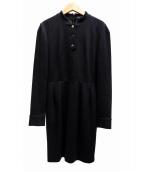 GUCCI(グッチ)の古着「ウールジャージワンピース」|ブラック