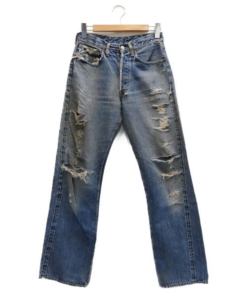 LEVIS(リーバイス)LEVIS (リーバイス) 501XXデニムパンツ インディゴ サイズ:表記サイズ:- 革パッチセンターループの古着・服飾アイテム