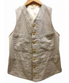 ANATOMICA(アナトミカ)の古着「SAGAN VEST SEERSUCKER ベスト」|グレー