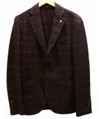 L.B.M.1911(エルビーエム1911)の古着「2Bジャケット」 ボルドー