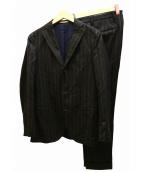 BOGLIOLI(ボリオリ)の古着「DOVERセットアップ3Bスーツ」|チャコールグレー
