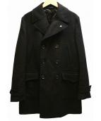 L.B.M.1911(エルビーエム1911)の古着「ヘリンボーンカーコート」|ブラック