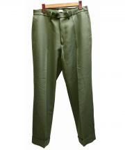 KAIKO(カイコー)の古着「CHINO TROUSER  TAPEREDパンツ」|グリーン