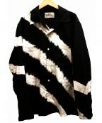 NOMA t.d.(ノーマティーディー)の古着「Tie Dye LS Shirt シャツ」 ブラック