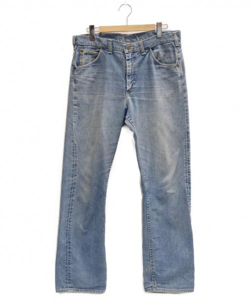 LEE(リー)LEE (リー) 70年代前期 デニム スカイブルー サイズ:表記サイズ:36の古着・服飾アイテム