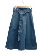 BARNYARDSTORM(バンヤードストーム)の古着「スカート」|グリーン